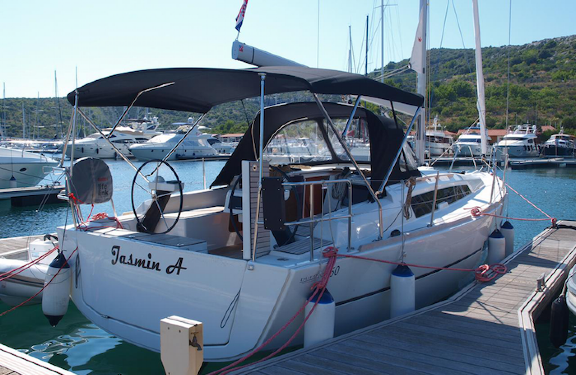 dufour grand large croatia sail vela charter skipper